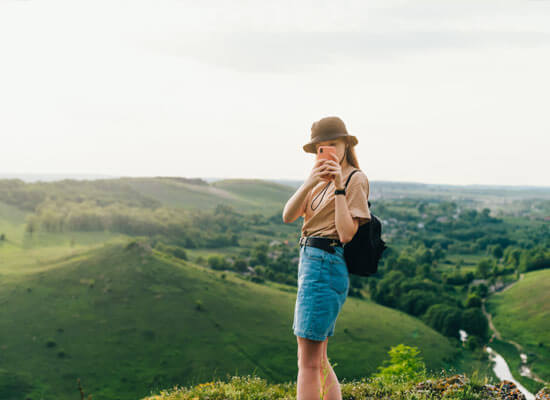 Go on a romantic photoshoot in the Malvern Hills